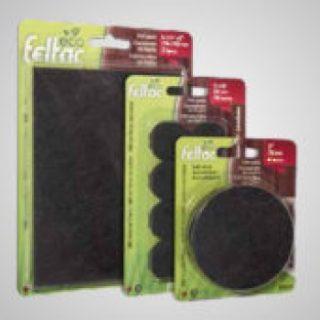 ECO FELTAC® Heavy-Duty Recycled-Fiber Felt Pads